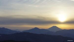 Mt. Takao - Summit View