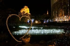 Roppongi Hills Illumination - Mori Garden 01