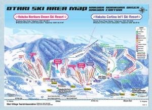 Hakuba Otari Area Ski map (www.hakubatourism.jp)