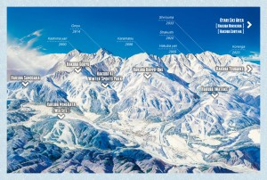 Hakuba Ski map (www.hakubatourism.jp)