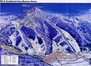 Nozawa Onsen trail (www.snow-forecast.com)