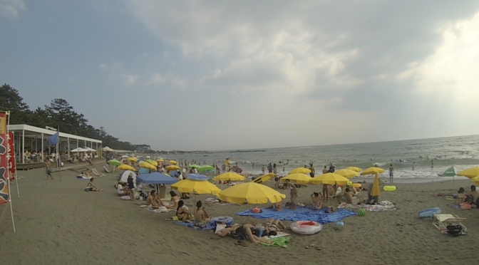 Beating the Summer Heat in Hayama Isshiki Beach