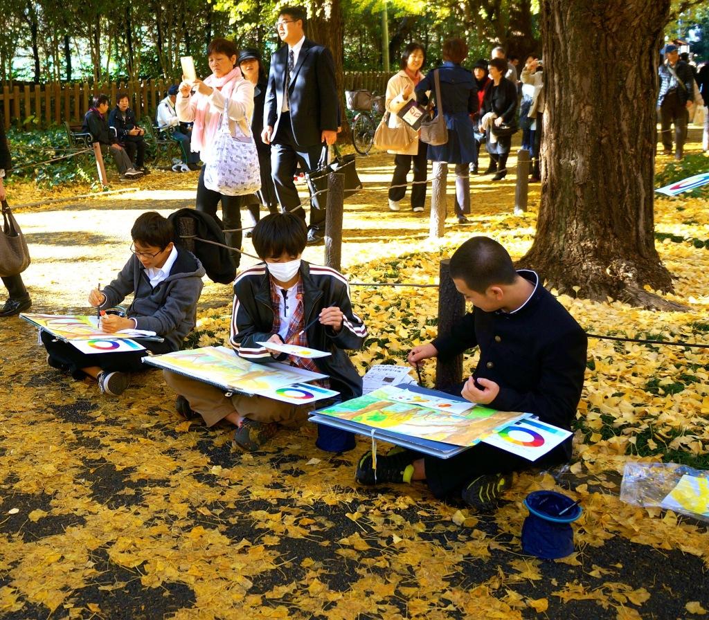 Meiji-jingu Ginkgo Avenue - 05