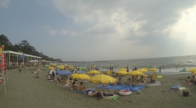 Beating the Summer Heat in Hayama Isshiki Beach